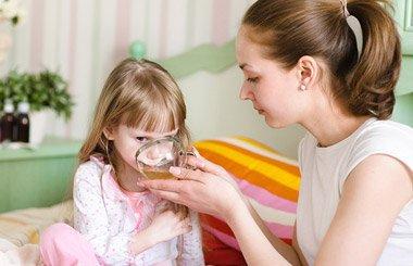 Лечение ОРВИ и гриппа у детей: основные принципы | Деринат