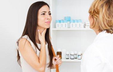 Что нужно знать о лечении острой боли в горле?   Деринат