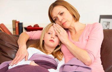 Много детей были больны гриппом как правильно
