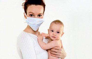 Деринат Если мама заболела ОРВИ, как не заразить ребенка: 6 правил