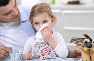 Что дать ребенку при начальной стадии простуды? | Деринат