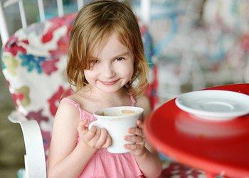 Горячие напитки для детей: согреваемся и защищаемся от простуды | Деринат