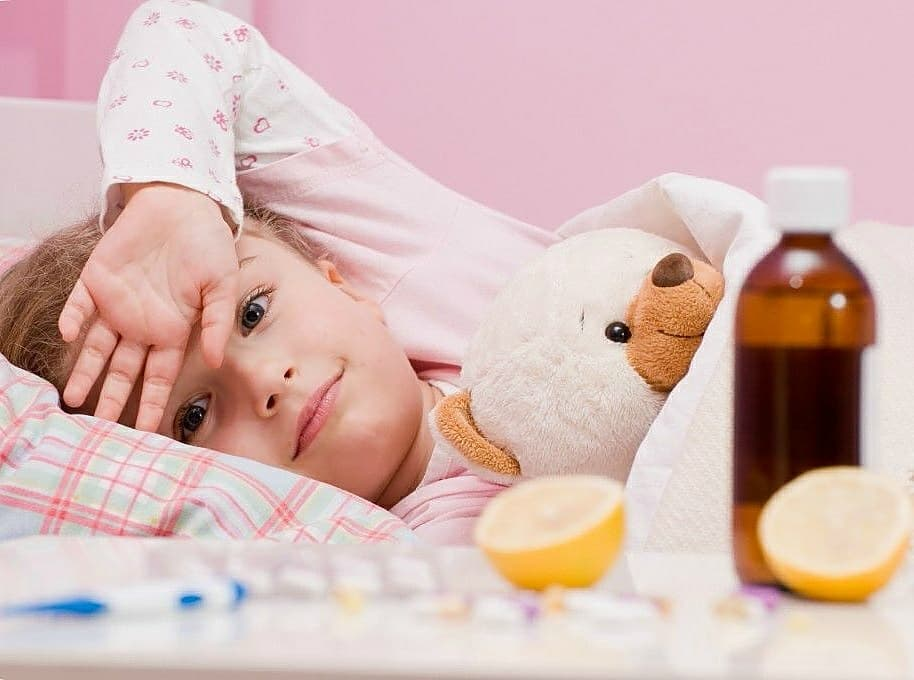 Лекарства от простуды для детей: выбираем быстродействующие препараты | Деринат