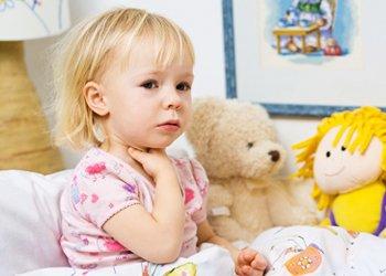 Отек горла у ребенка: без паники! | Деринат