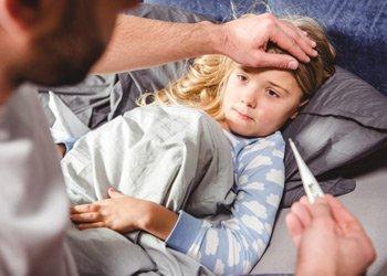 Лечимся правильно: что принимать при простуде с температурой ребенку?   Деринат