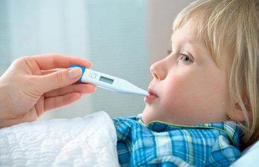Деринат У ребенка долго держится высокая температура: как с этим бороться?