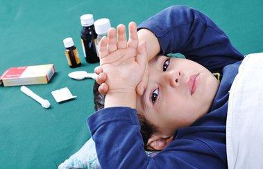 Эффективные меры пресечения простуды, когда ребенок начинает заболевать | Деринат