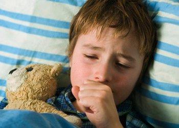 Что делать, если долго не проходит сухой кашель у ребенка? | Деринат