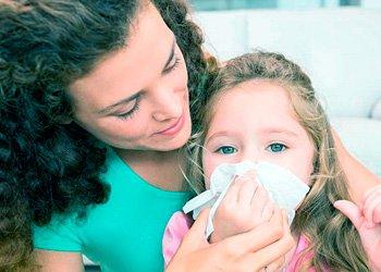 Грипп у детей: продолжительность, симптомы, лечение | Деринат