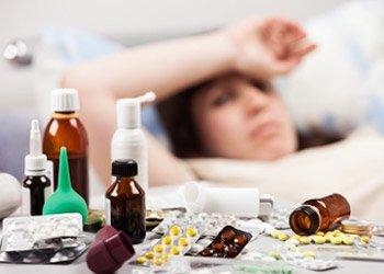 Как лечить простуду и грипп: аптечные препараты и народные средства | Деринат