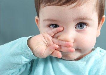Как снять отек при насморке у детей? | Деринат