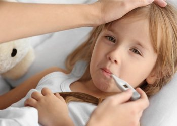 Лечение респираторных заболеваний: как проявляется вирус у ребенка? | Деринат