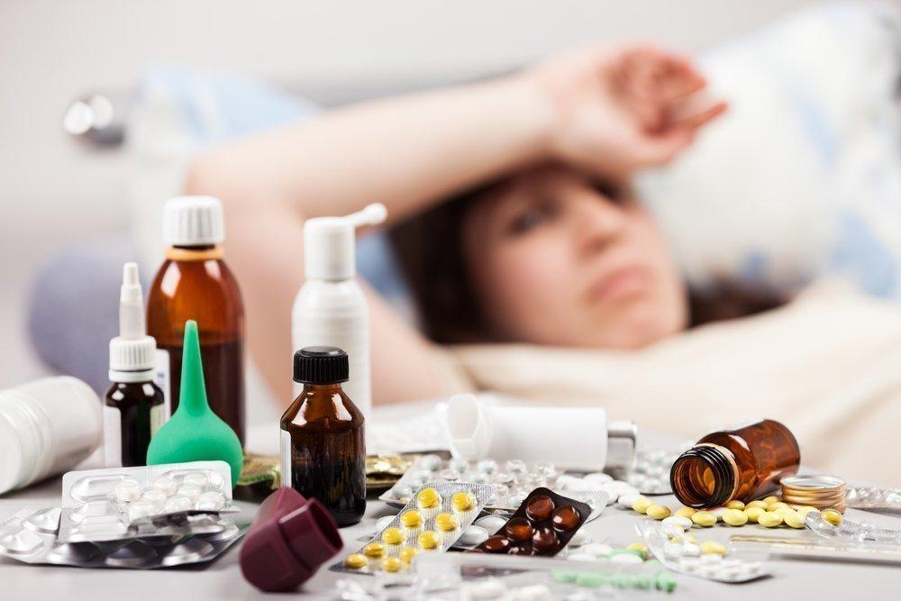 Лечение ОРЗ у взрослых: симптомы