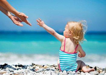Ребенок заболел после поездки на море: что делать?   Деринат