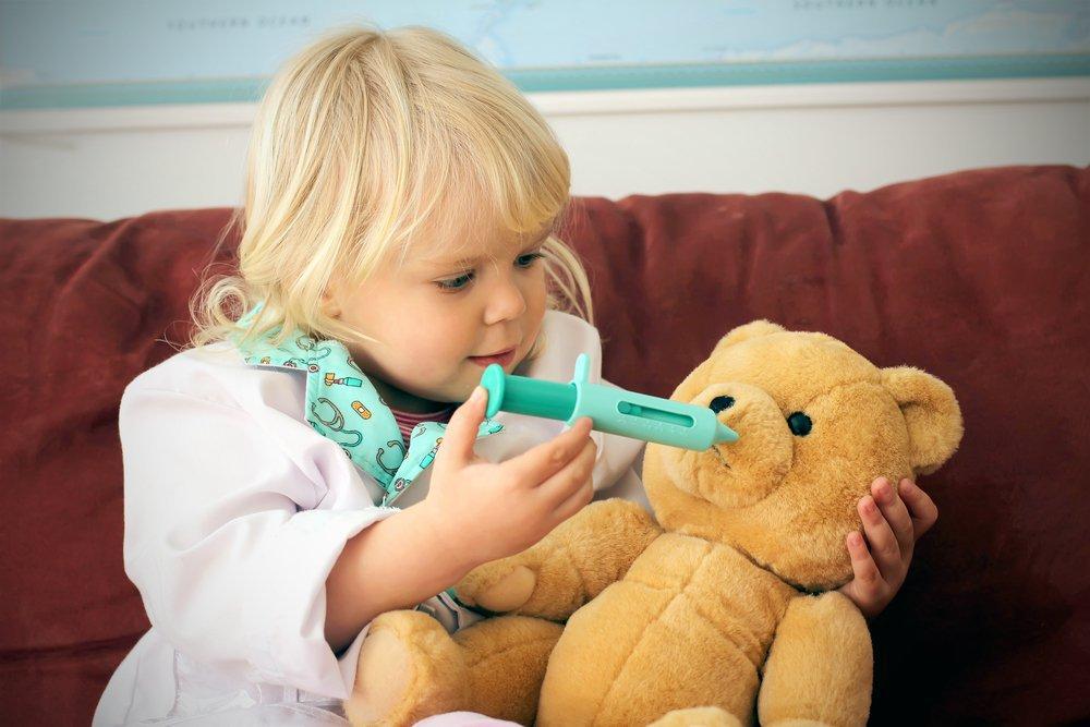 Как лечить грипп у детей?   Деринат