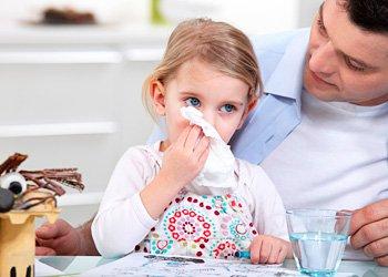 Лечение простуды у детей: какие методы существуют? | Деринат