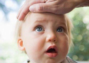 У ребенка скачет температура и как сбить жар? | Деринат
