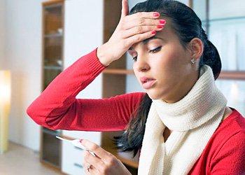 Высокая и низкая температура при простуде: когда пора бить тревогу? | Деринат