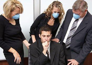 Почему нельзя грипп переносить на ногах