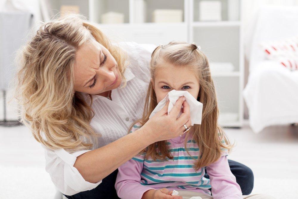 Частый насморк у ребенка