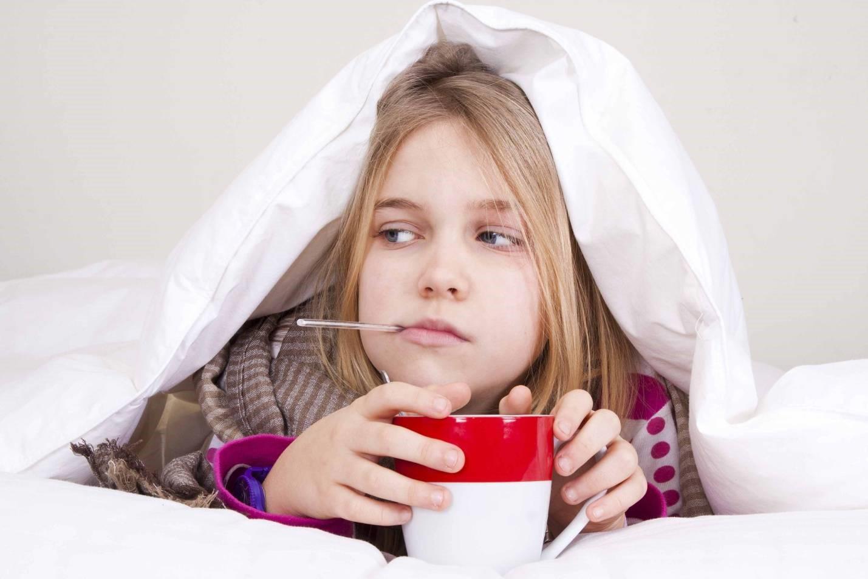 Симптомы простуды у детей